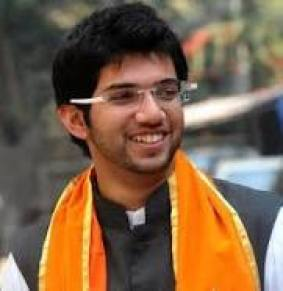 Aditya Thackeray is the son of Uddhav Thackeray, leader and chairperson of the Shiv Sena, and grandson of Balasaheb Thackeray. He is currently the head of Yuva Sena, a youth wing of Shiv Sena (Courtesy: Wikipedia)