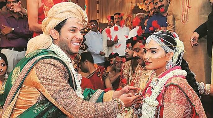Gali Janardhan Reddy's daughter Brahmani Reddy married Rajeev Reddy, son of Andhra businessman Panyam Vikram Deva Reddy, who has mining interests in Africa. (Photo courtesy: Indian Express)