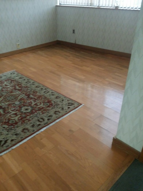 Low humidity levels can cause wood floors to shrink leaving gaps within the  wood. To protect from separation and gapping, try to keep the thermostat in  your ...
