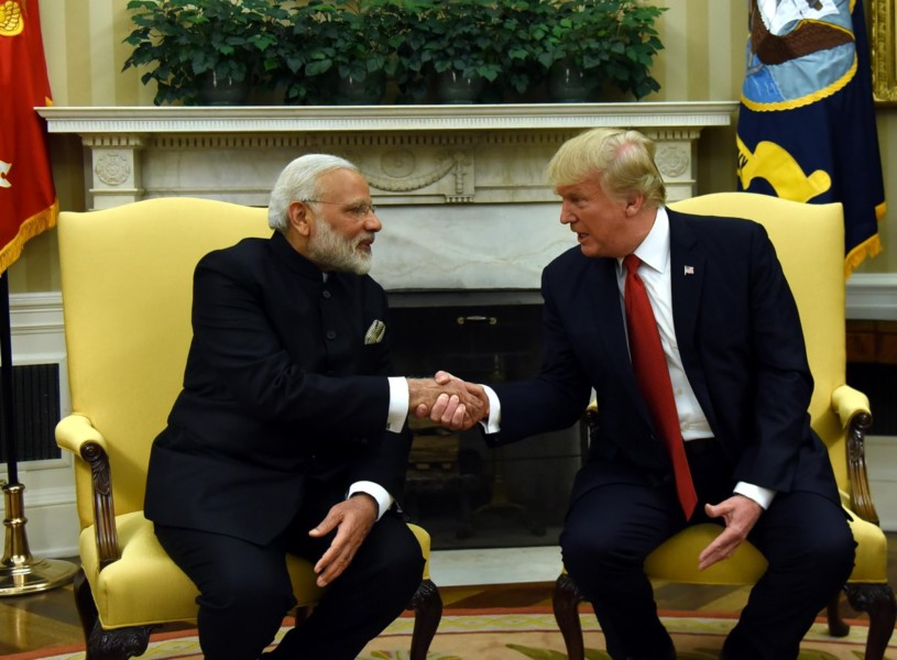 Mattis Meets With India's Prime Minister