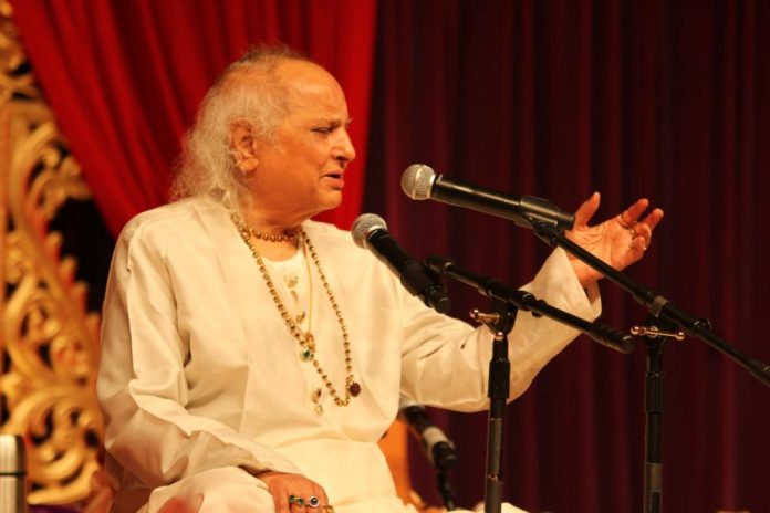 Music Legend Pandit Jasraj Displays Poetic Lyrics, Performs at MIT