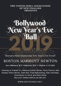 Bollywood New Year's Eve Ball @ Boston Marriot Newton | Newton | Massachusetts | United States