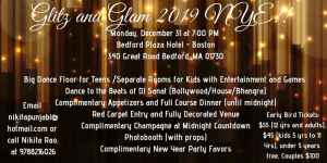 Glitz and Glam NYE 2019 ! @ Bedford plaza hotel - Boston! | Bedford | Massachusetts | United States