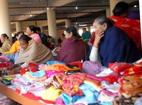 Mother's market Imphal