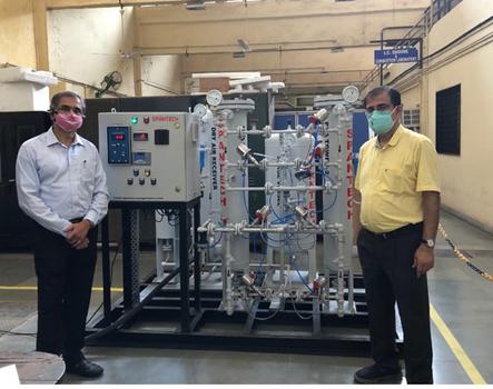 Oxygen from Nitrogen Unit