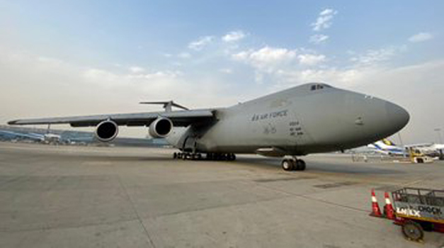 First Aid from the US reaches India