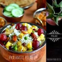 Kashmiri Pulao Recipe | Navratan Pulao | Kashmiri Biryani Restaurant Style | 4.75/5.0