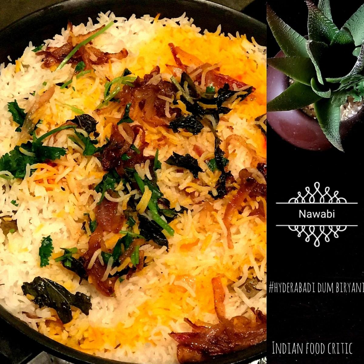 Hyderabadi Dum Biryani | Veg Dum Biryani | Egg Biryani | Hyderabadi Egg Dum Biryani | 4.75/5.0