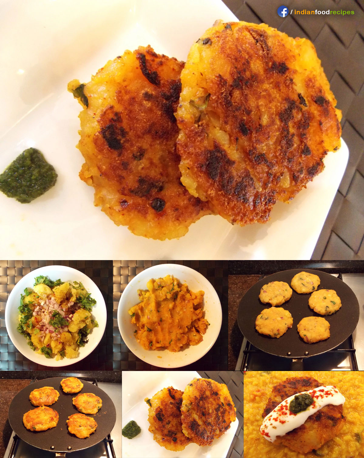 Alu Tikki (Spiced Potato Patties) recipe step by step