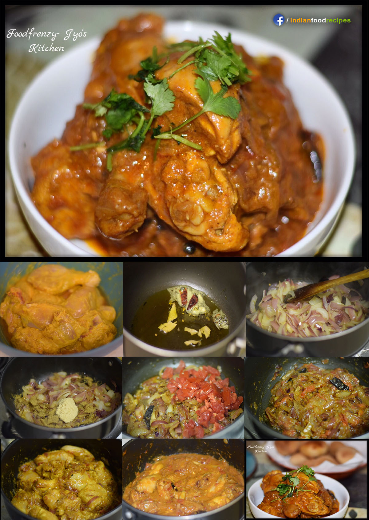 Bachelor's Chicken Curry recipe step by step