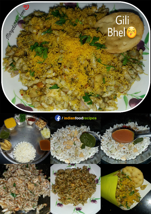 Bhel puri recipe step by step