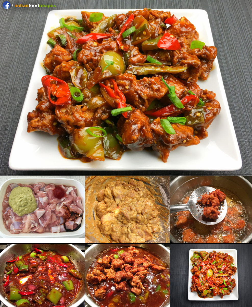 Chilli Chicken recipe step by step