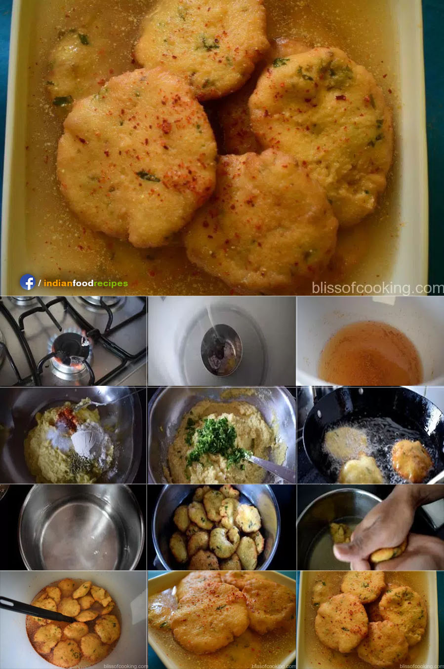 Kanji Vada recipe step by step