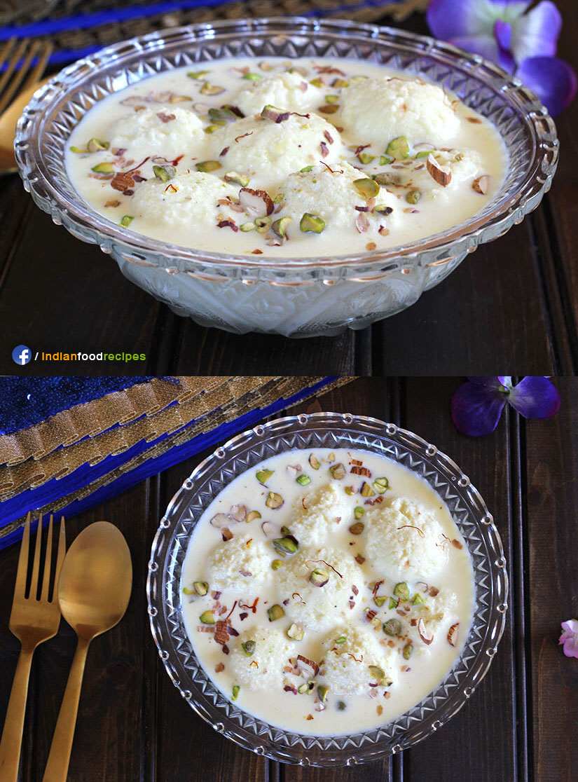 Rasmalai recipe step by step