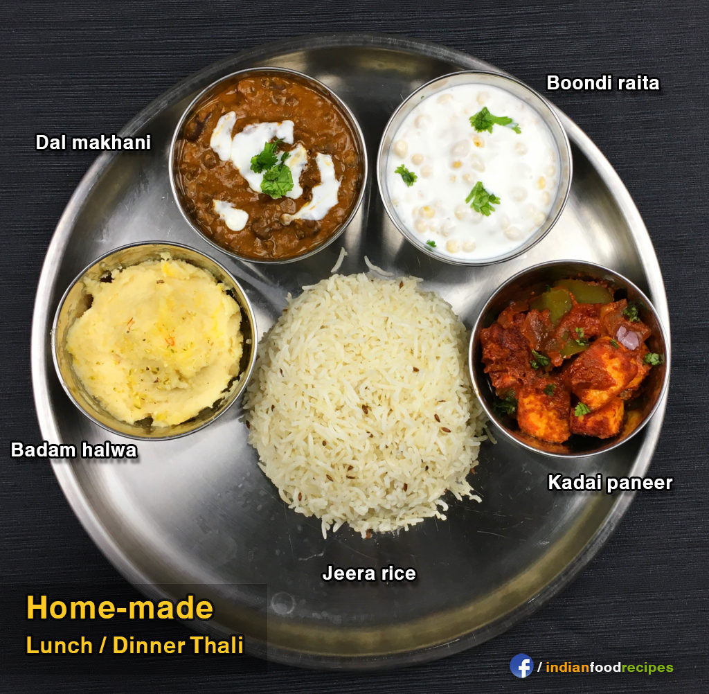Veg Thali#13 recipe step by step