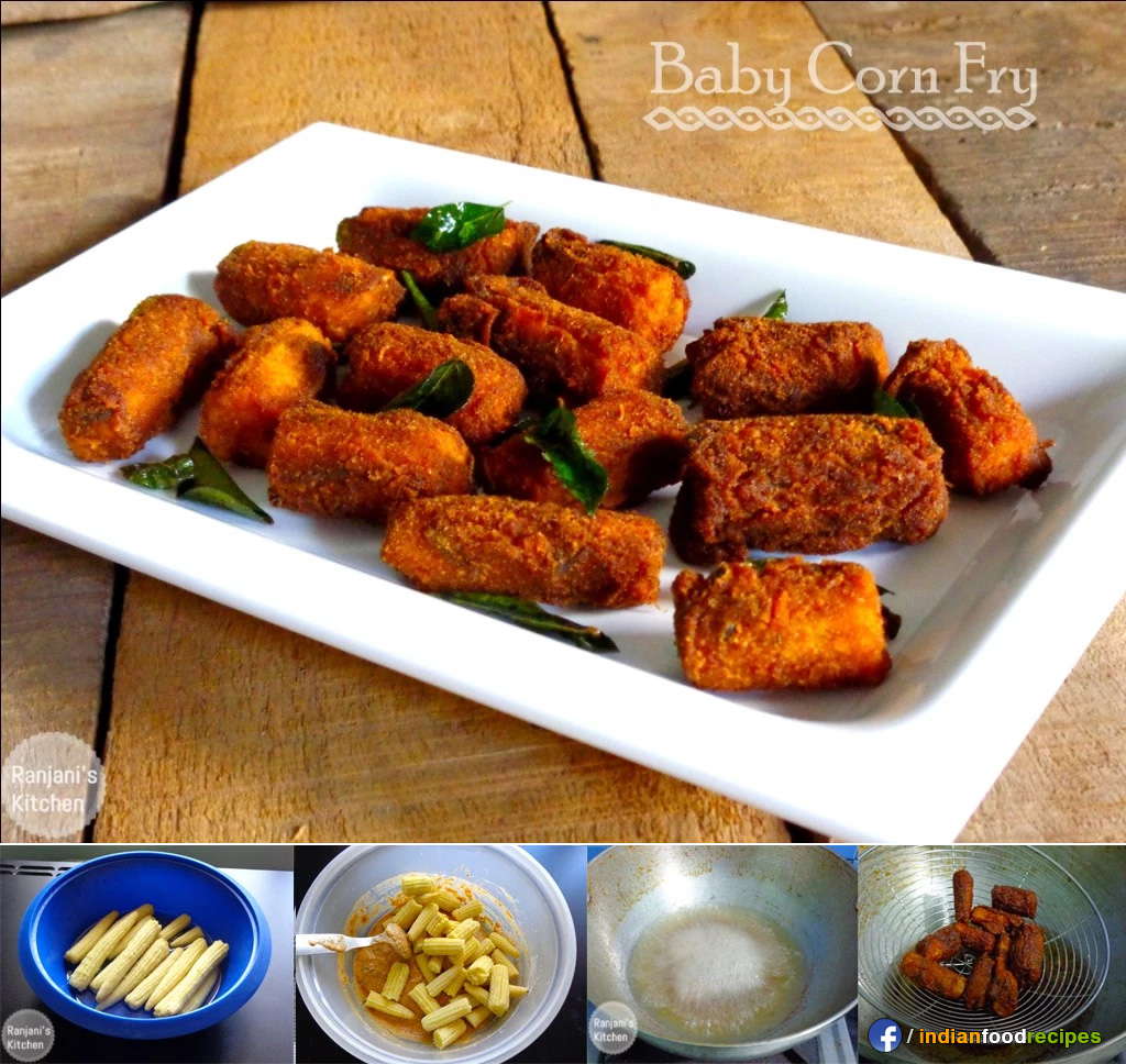 Baby Corn Fry recipe – quick snacks step by step