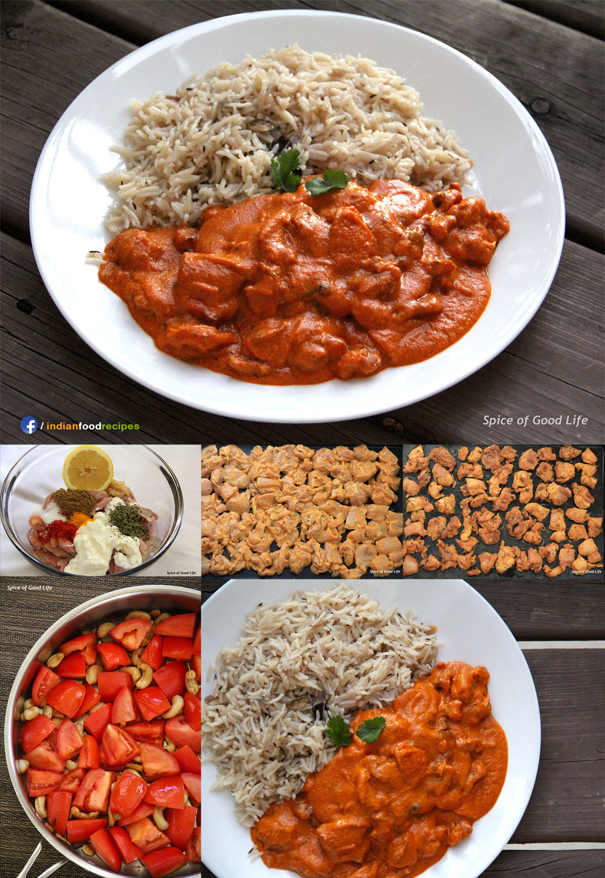 Easy Butter Chicken recipe step by step
