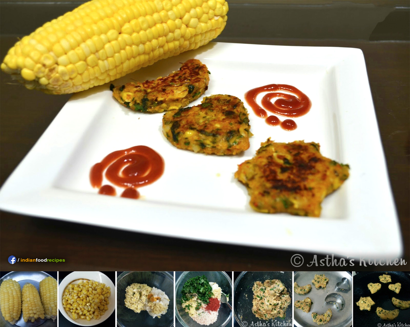 Corn Cutlets recipe step by step