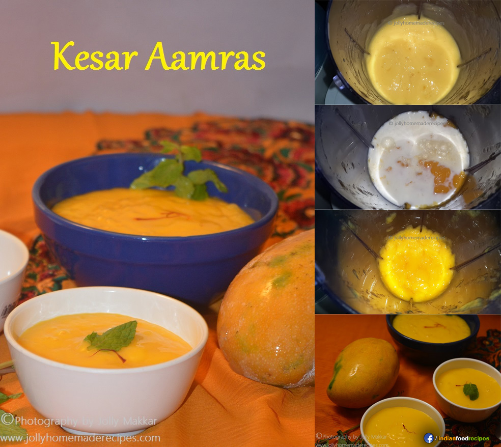 Kesar Aamras recipe step by step