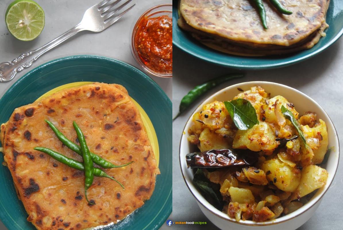 Masala Aloo Aur Dal Ka Parantha recipe step by step