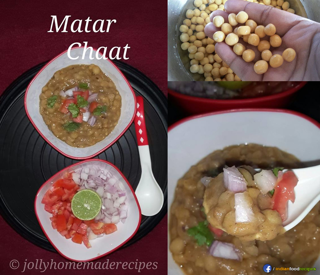 Matar Chaat recipe step by step