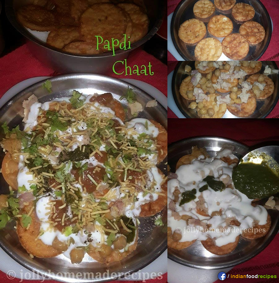 Papdi Chaat recipe step by step
