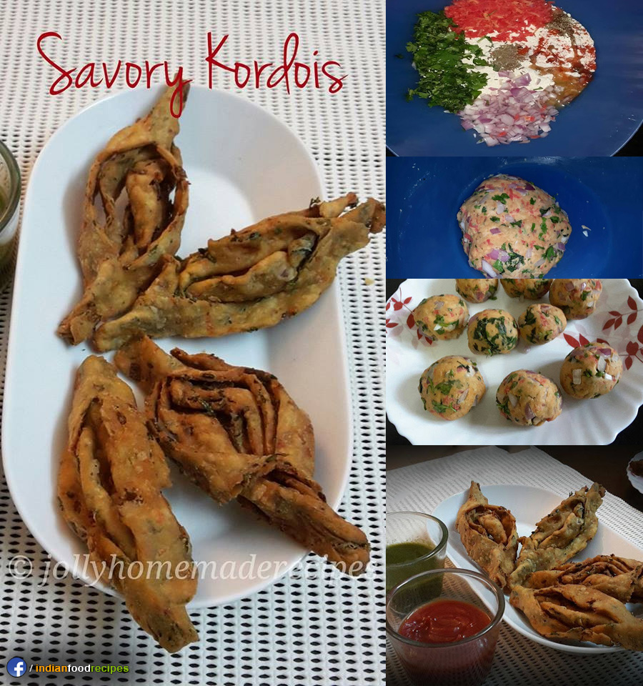 Savory Kordois – Assamese Snack recipe step by step