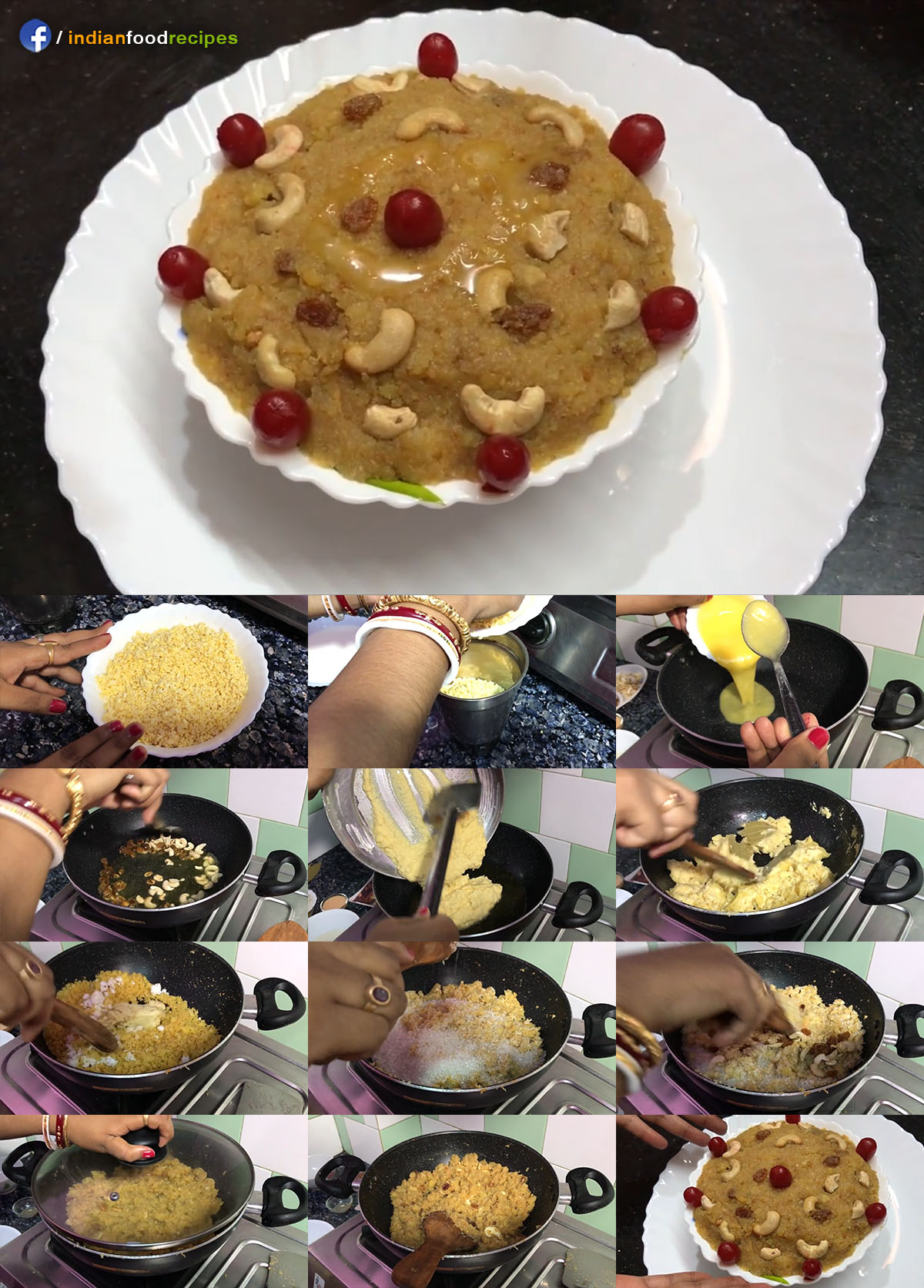 Authentic Moong Dal Halwa | Sheera recipe step by step