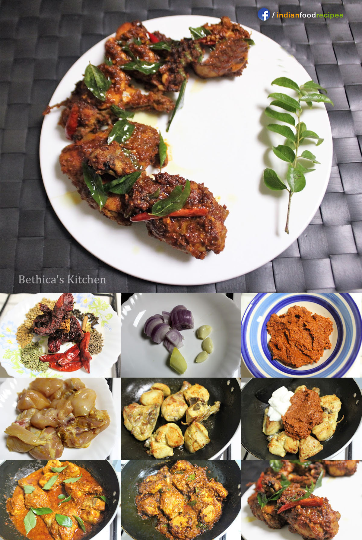 Chicken Ghee Roast – Mangalorean Style recipe step by step pictures