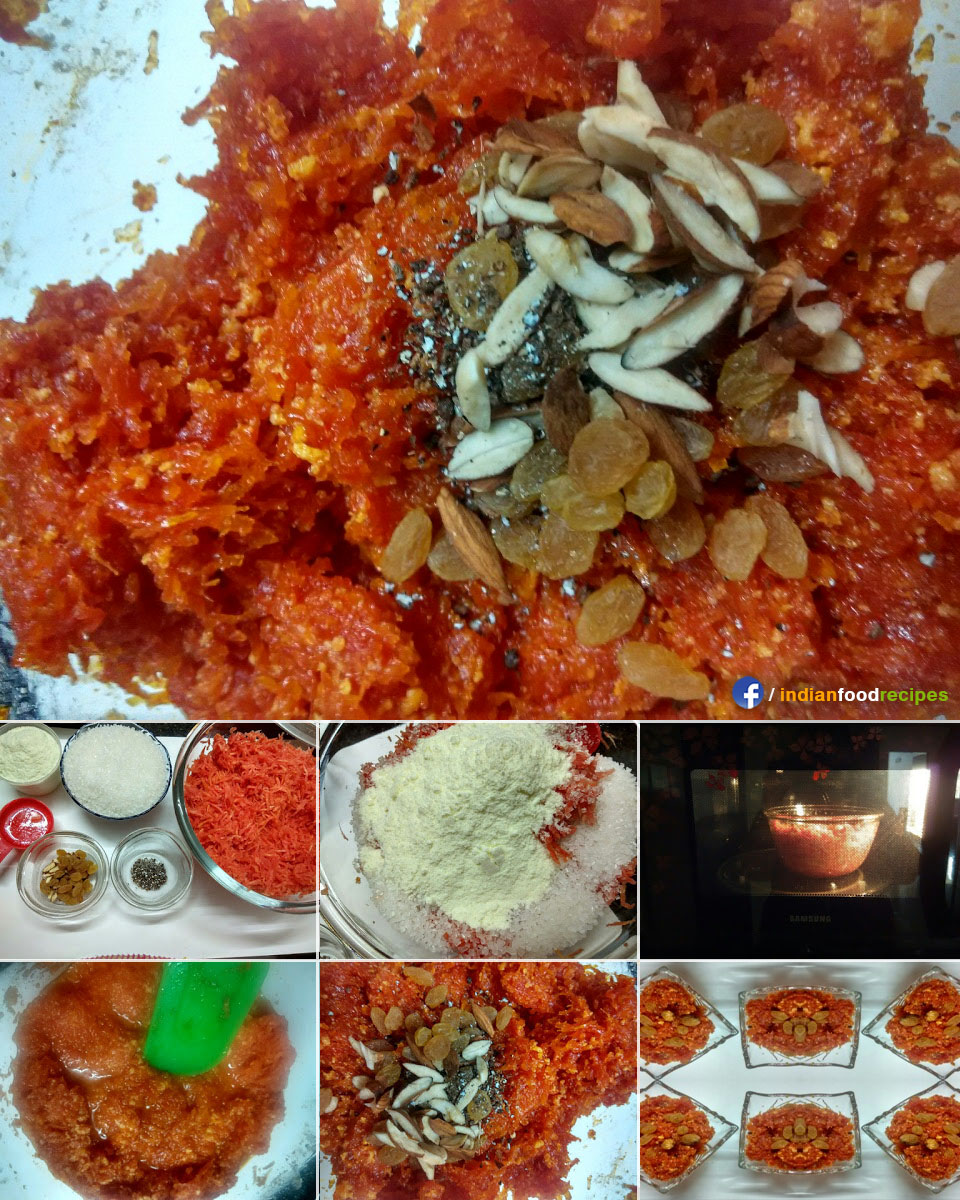 Gajar halwa in microwave carrot dessert pudding recipe step by gajar halwa in microwave carrot dessert pudding recipe step by step pictures forumfinder Gallery