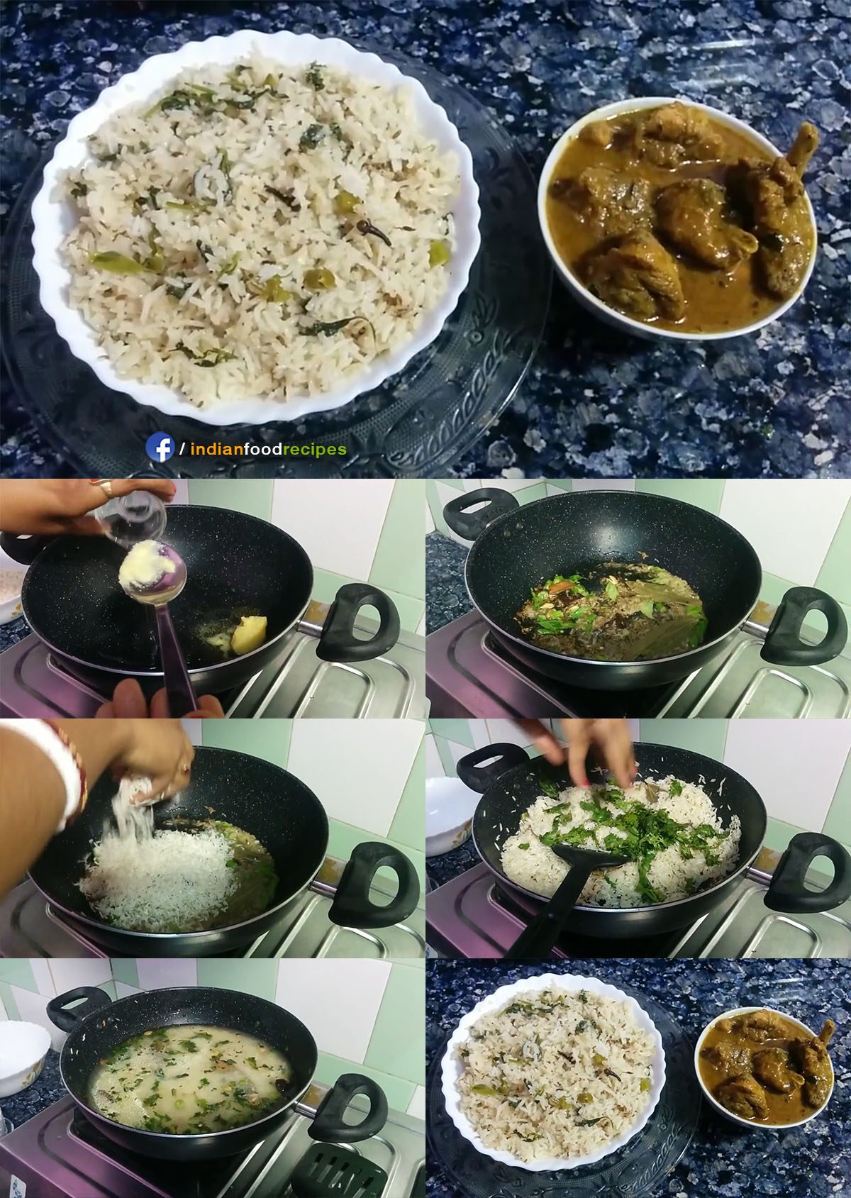 Jeera Rice Restaurant Style recipe step by step