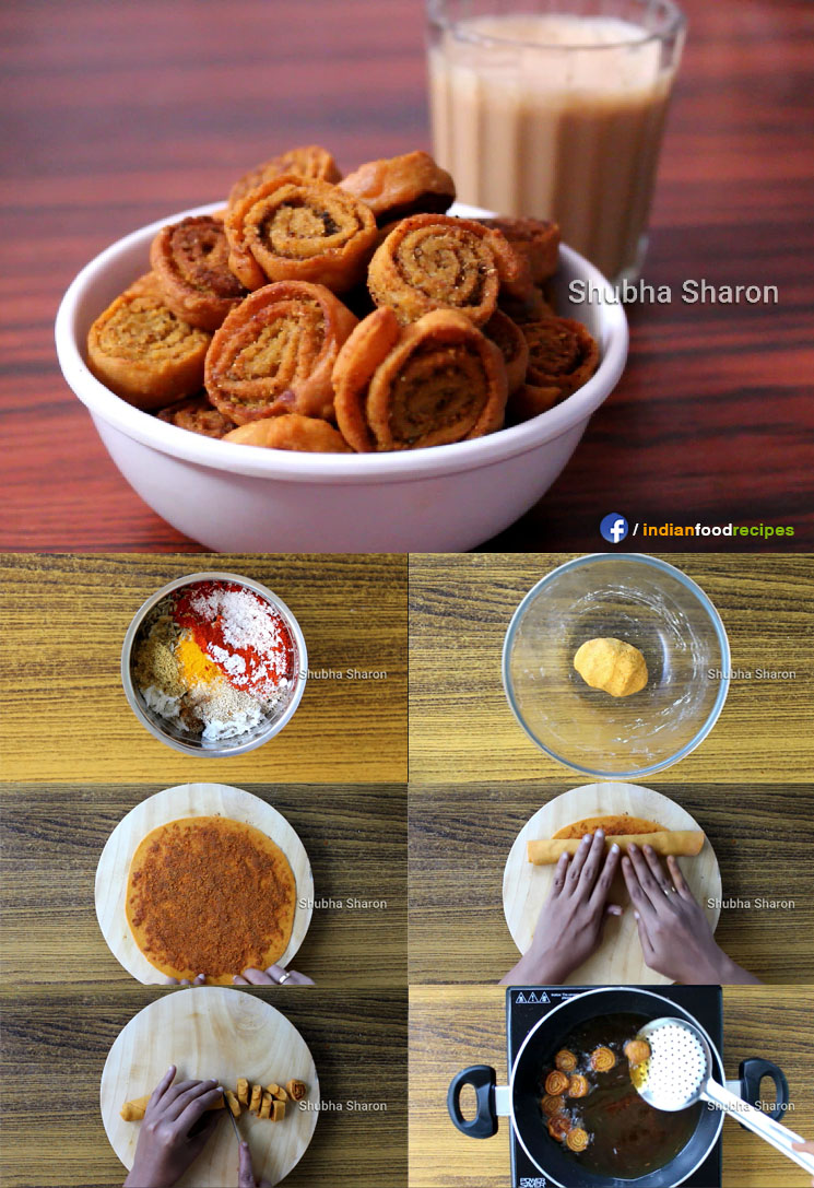Bakery Style Bhakarwadi recipe step by step pictures