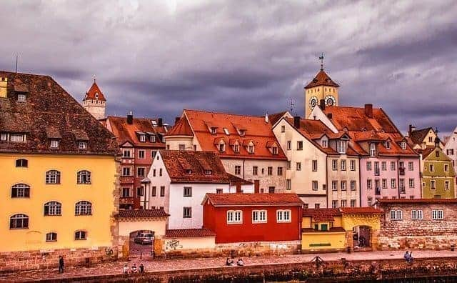 Beatiful towns in bavaria Germany