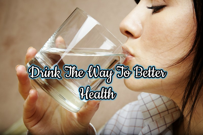 STAY HYDRATED, DRINK WATER