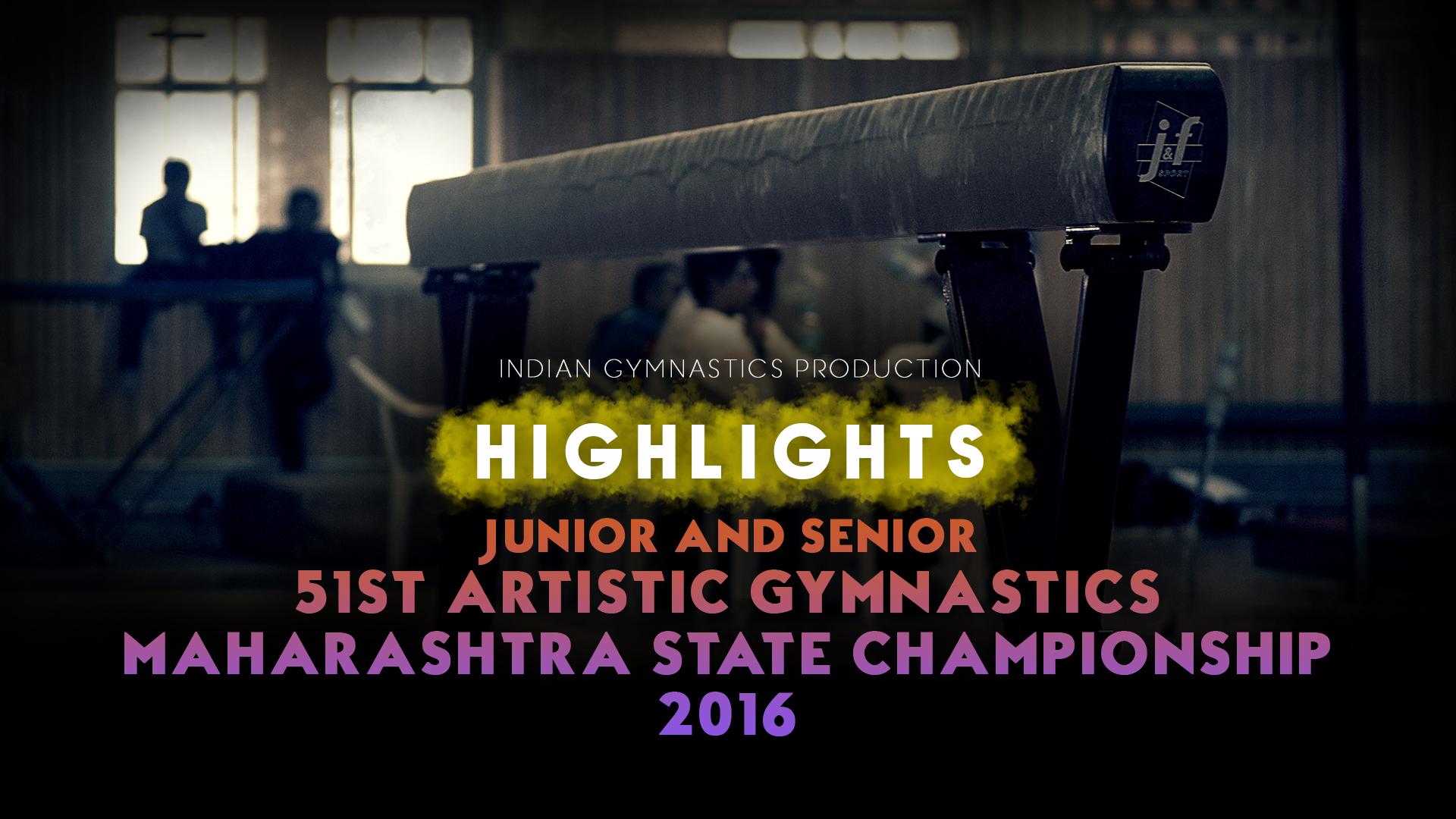 HIGHLIGHTS | Jr. & Sr.Maharashtra State Championship 2016