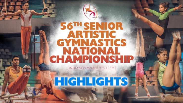 HIGHLIGHTS | 56th Artistic Gymnastics National Championship Surat 2018