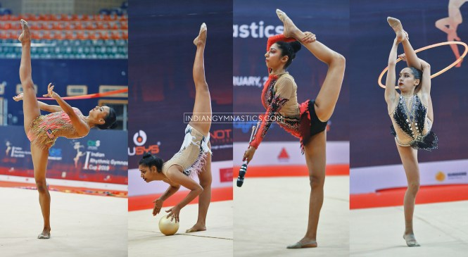 1st Indian Rhythmic Gymnastic Cup 2019 | Results