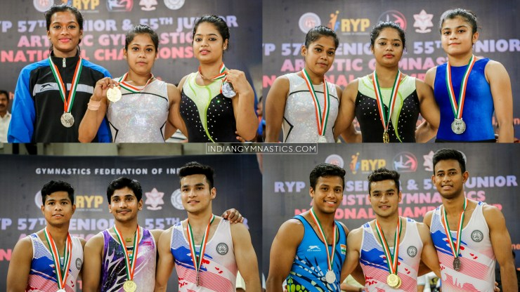 Sr. Men's and  Women's Individual Apparatus Final Results | RYP 57th Sr. and 55th Jr. Artistic Gymnastics National Championship 2019