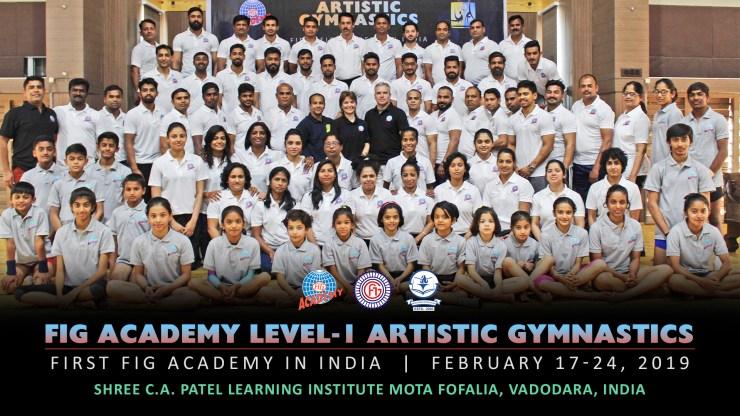FIG Academy Level -1 | Artistic Gymnastics | Mota Fofalia, India