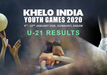 Khelo India Youth Games 2020 | Under 21 Results
