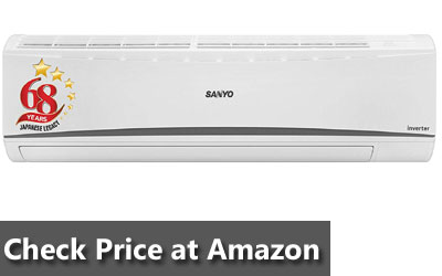 Sanyo 1.5 Ton 5 Star Dual Inverter Wide Split AC (Copper SI/SO-15T5SCIC White)