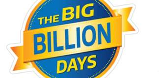 (Announced) Flipkart Big Billion Days Sale Date 2019 (29th Sep to 4th Oct)