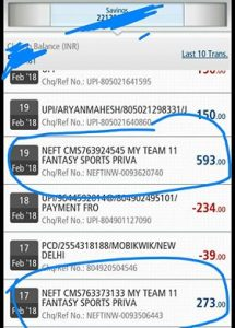 (Fantasy Cricket) MyTeam11 Refer And Earn: Get Rs.100 On Signup + Rs.50 Per Referral
