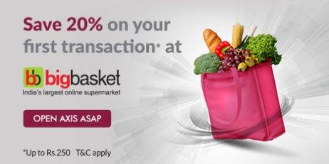axis asap big basket offer