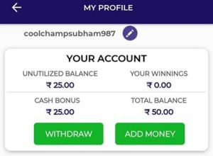 How To Withdraw Money From World Team11 Fantasy App