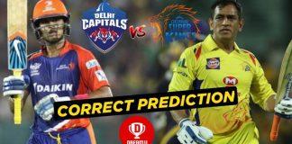 CSK vs DC Dream11 Team Prediction Today Match