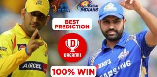 IPL 2019 - fina, MI vs CSK Dream11 Team Prediction Today Match