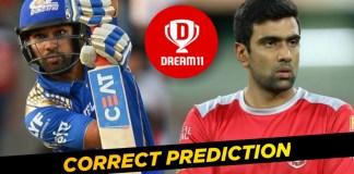 IPL 2019 ( Match 24) MI VS KXIP Dream 11 team & Playing XI