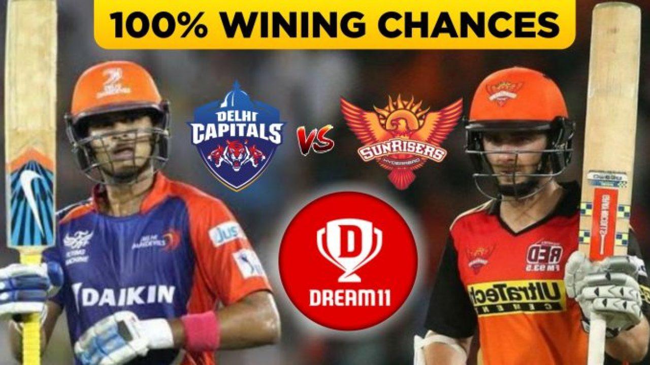 IPL 2019 - Eliminator, DC vs SRH Dream11 Team Prediction