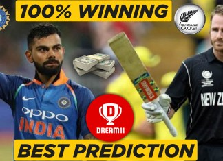 IND vs NZ 4th Warm-up game - ICC Cricket World Cup 2019 Dream11 Team